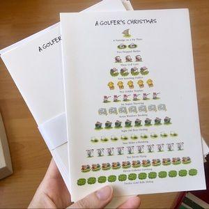 Christmas Golf Cards